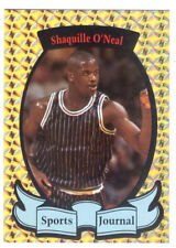 Shaquille O'Neal Autographed Sports Journal Card Signed