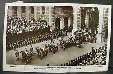 CORONATION PROCESSION 1911 NEW ADMIRALTY ARCHES RPPC