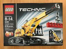 LEGO Technic Tracked Crane 9391 Brand New, Retired, Sealed, Box Good Condition