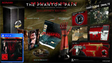 Ps4 gioco Metal Gear Solid V 5 The Phantom Pain COLLECTOR 'S EDITION NUOVO