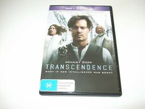 Transcendence - DVD **Free Postage** Johnny Depp