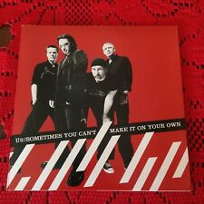 U2  Sometimes You Can't Make It On Your Own Cardboard cd single Bono