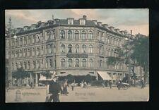 Denmark KOBENHAVN Copenhagen Central Hotel used 1908 PPC
