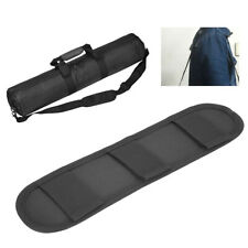 Durable Black Strap Pad Padded Shoulder Replacement for Camera Bag Backpack CO