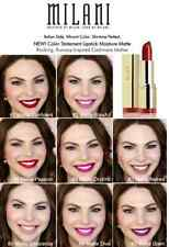 MILANI COLOR STATEMENT LIPSTICK MADE IN USA You Pick Color