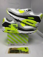 "Nike Air Max 90 2020 ""OG VOLT"" NEW! Size 10 OFF WHITE SOLD OUT CD0881-103 NO LID"