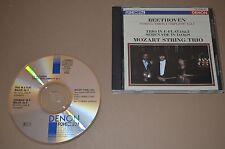 Beethoven - String Trios Complete Vol.1 / Mozart String / Denon 1988 / Japan