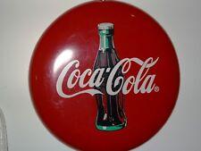 Tondo, bottone in ferro da muro o parete pubblicitario della coca-cola