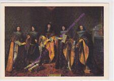 CP ART TABLEAU PHILIPPE de CHAMPAGNE Louis XIV reçoit chevalier de l'Ordre ..