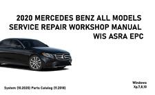 2020 Mercedes All Models WIS ASRA EPC Service Repair Workshop Manual