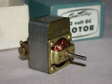 ORIGINAL VINTAGE KEMTRON 12 VOLT MOTOR - NEW IN BOX - O SCALE