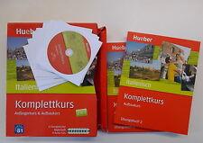 Komplettkurs Italienisch: Anfängerkurs & Aufbaukurs / 1 Übungsbuch + 8 Audio-CD