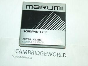 MARUMI 95mm NEW CIRCULAR POLARIZER  SCREW in GLASS FILTER MADE in JAPAN & CASE