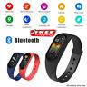 Smart Band Watch Bracelet Wristband Fitness Tracker Blood Pressure Heart Rate M5