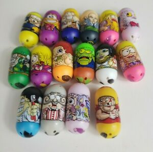 Lot Of 16 2010 Mighty Beanz Series 1 and 2 Professor X
