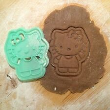 Hello Kitty cookie cutter - 1pcs - Plastic 3d printed (PLA)