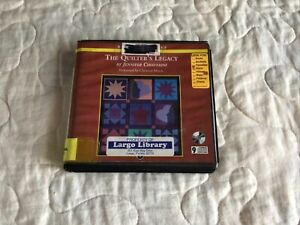 The Quilter's Legacy by Jennifer Chiaverini Unabridged 9 CD Audiobook
