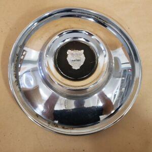 """Jaguar XKE E-Type XJ6 XJ12 1969-79 Original Chrome 9"""" Wheel Hub Cap C30283 OEM"""