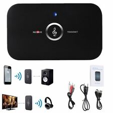 2 in1 HIFI Wireless Bluetooth Audio Transmitter Receiver 3.5mm RCA Music Adapter