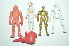 RARE TOY MEXICAN LOT FIGURES BOOTLEG STAR WARS MADE IN MEXICO III