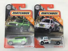 Lot of 2 MATCHBOX 1:64 Scale Metal Collectables Toys MBX City 1/100 & 34/100 New