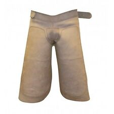 Farrier Chaps Apron Nubuck Genuine Leather Horseshoeing Apron - FREE KNIFE