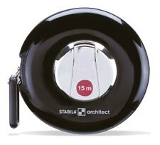 Stabila 10656 Tape Measure Architect Stahl-Messband 15m Case Tape