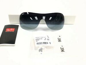 AUTHENTIC RAY-BAN RB3321 002/8G 33 REPLACEMENT GRAY GRADIENT LENSES