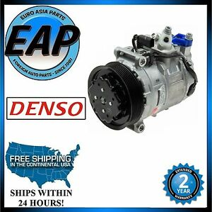 For 2003-2014 Porsche Cayenne 4.5 4.8 V8 DENSO A/C Compressor NEW