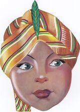 Maschera di CARNEVALE  (   B 03 bis  )  - PRINCIPE INDIANO............anni '60