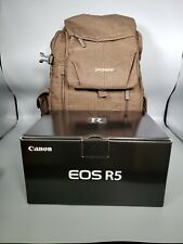 Canon EOS R5 Mirrorless Digital Camera (Body Only) + Backpack. BRAND NEW