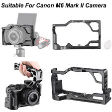 Practical Metal Camera Cage Holder Mount for Canon M6 Mark II Camera Accessories