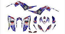 YAMAHA RAPTOR 700 GRAPHICS KIT STICKERS DECALS 06-12