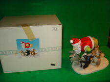 Charming Tails The Santa Balloon Figurine