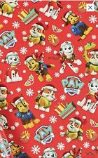 Paw Patrol Christmas Wrapping Paper 4 Meter roll