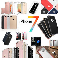 iPhone 7 / 7 Plus Case Cover, Slim Heavy Duty ShockProof Wallet Screen Protector