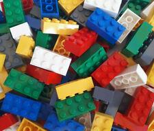 100 *brandneue* 2x4 Lego® Steine original bunt gemischt 3001