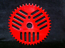 Red GT PRO PERFORMER 43T Cheese Grater CHAINRING Old School BMX Sprocket PFT