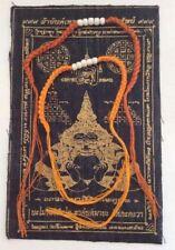 2 x buddhistische Sai-Sin Armbänder selinger gesegnet Glück Baumwolle Thailand
