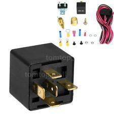 200-185 Degree Electric Cooling Fan Wiring Install Relay Kit Thermostat NEW M5U5