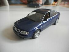 Minichamps Audi A6 1997 in Blue on 1:43
