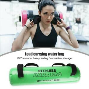 Portable Weight Lifting Water Bag Fitness Workout Adjustable