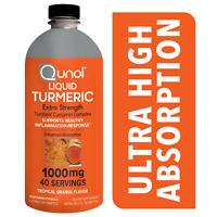Liquid Turmeric Curcumin 1000mg, Enhanced Absorption, Tropical Orange 20oz