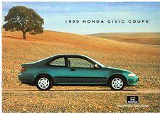 Honda Civic Coupe 1994-95 UK Market Sales Brochure 1.5i LSi