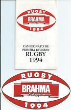 1994 L'Argentine Premier Division Luminaire liste & Autocollant Voiture