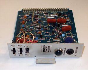 Motorola TRN8677A Micor Spectra Repeater Station Control Module