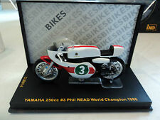 Ixo 1/24 Yamaha 250cc #3 World Champion 250cc 1968 Phil Read