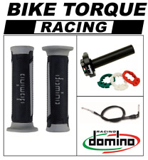 VFR750 R RC30  Domino XM2 Quick Action Throttle Kit Black Grey TUR Grips
