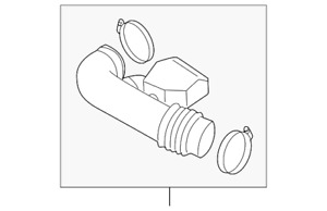 Genuine Nissan Duct Assembly 16576-7S00A