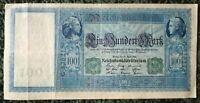Germany Reichsbanknote - 100 Mark Green Berlin 1910